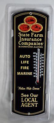"""State Farm Insurance... THERMOMETER 12"""" STEEL"""