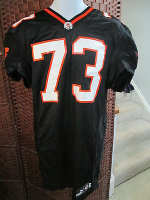 Puma 2001 BC Lions Player Issued Football Jersey Size 48 CFL WOW # 73