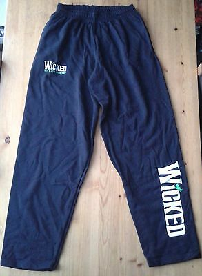"""2011 & 2012 Company"" Wicked the Musical cast tracksuit bottoms size L"