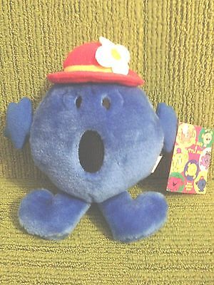 LITTLE MISS BOSSY 7'' PLUSH SOFT TOY w/TAGS - GOLDEN BEAR 1996 Ex Con (MR MEN)