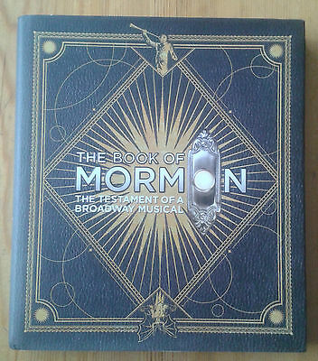 The Book of Mormon The Testament of a Broadway Musical hardback book Trey Parker