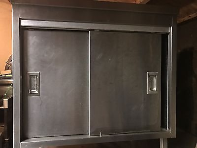 Commercial Stainless Steel Cupboard Sliding Doors 850x650mm