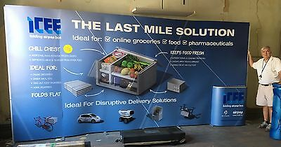 Trade Show PopUp Display Booth for 10' to 20' spaces virtually NEW, just REDUCED