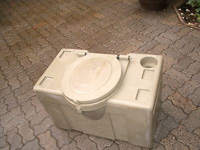 PVC WC Container Removable tank for Camping Garden Basement od.