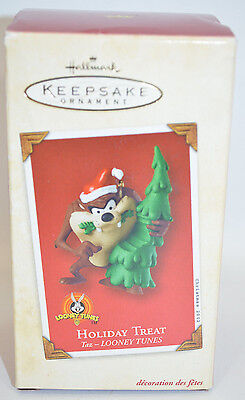 Hallmark Taz Looney Tunes Keepsake Ornament 2002 Holiday Treat Tazmanian Devil
