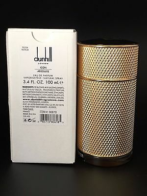 Dunhill Icon Absolute by Alfred Dunhill 3.3 3.4 oz /100 ml EDP -NEW IN WHITE BOX