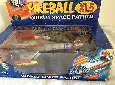 Fireball XL5 - Signed By Gerry Anderson !