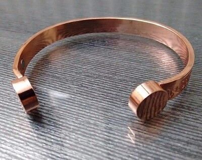 Copper Magnetic Bangle / Bracelet Bio For Arthritis & Pain Relief Unisex