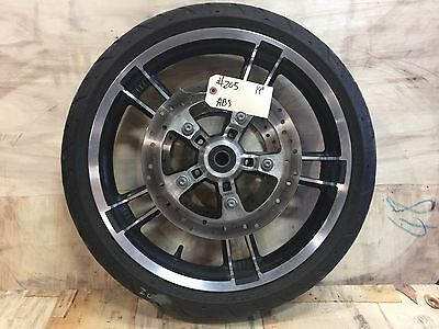 """Harley-Davidson 2009-2017 19"""" Enforcer Front Wheel, Tire, Rotors with ABS   #205"""