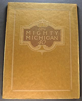1913 Michigan 40 Prestige Catalog Sales Brochure Excellent Original 13