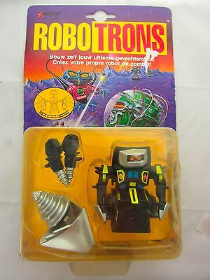 Vintage ROBOTRONS Augor Figure by Galoob 1992 Toy Robot Space Toy Sealed MOC