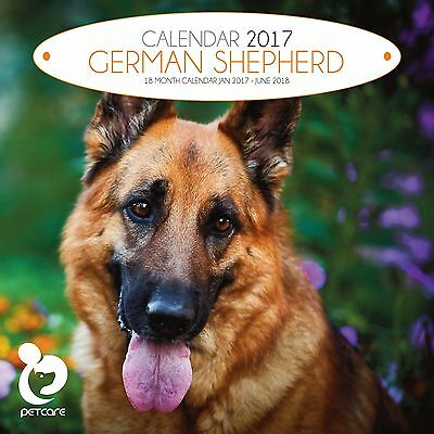 German Shepherd Dog Calendar 2017 with free pull out planner