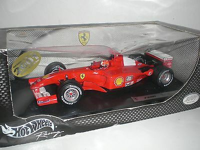Hotwheels 1/18 F1 Model Car Ferrari F2001 Michael Schumacher