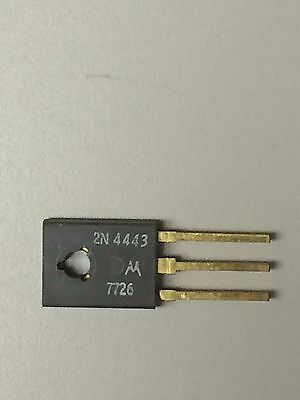 Motorola 2N4443, Silicon Controlled Rectifier SCR, 400V 8A TO-225AA, Qty 2