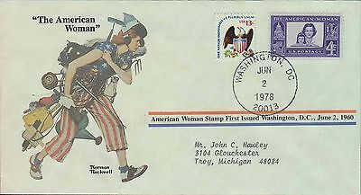 1978 - Norman Rockwell - Commemorative Society - The American Woman