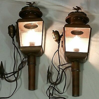 Porch Sconce Carriage House Hall Way Lights Lantern Vintage Steampunk