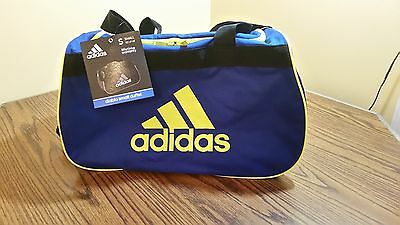 a3dc5492668c ADIDAS SMALL DUFFEL Athletic gym sport boxing casual travel Bag New ...