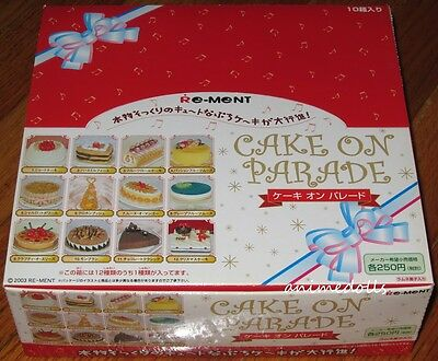 Re-Ment Miniature Cake on Parade Full Complete Set with SECRET Birthday Cake NEW