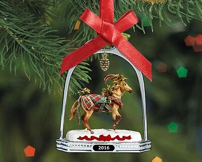 Breyer Holiday Collection #700317 Woodland Splendor Stirrup Ornament - New Fact