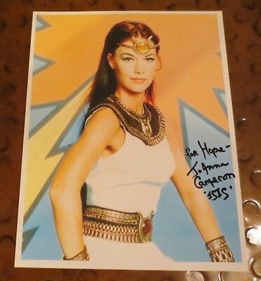Joanna Cameron model actress signed autographed photo The Secrets of Isis