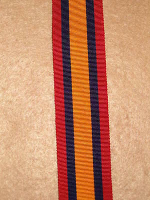 """6"""" of  Queen's South Africa Medal Ribbon"""