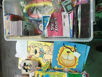 mystery box party items loot bags toys and cds reducled to clear bulk lot