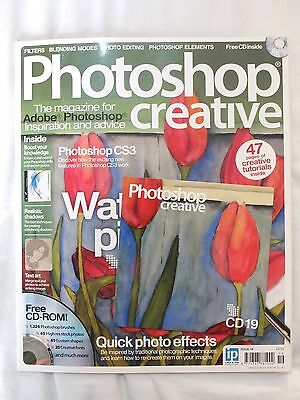Photoshop Creative magazine complete with CD - issue number 19