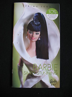 Barbie Collector CATALOG Calla Lily Barbie SPRING 2002
