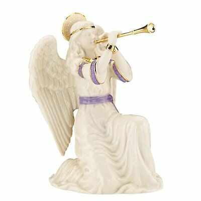 Lenox First Blessing Nativity Kneeling Angel With Trumpet New
