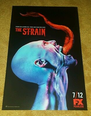 SDCC 2015  FX Exclusive The Strain Poster
