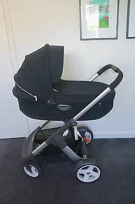 Stokke Crusi Stroller (Chassis, Bassinet and Seat)