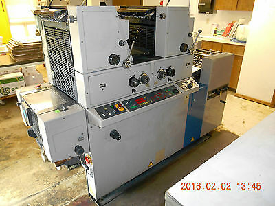commercial printing press