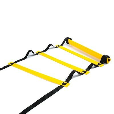 16 Rungs Agility Ladder, Speed Training Equipment For High Intensity Footwork