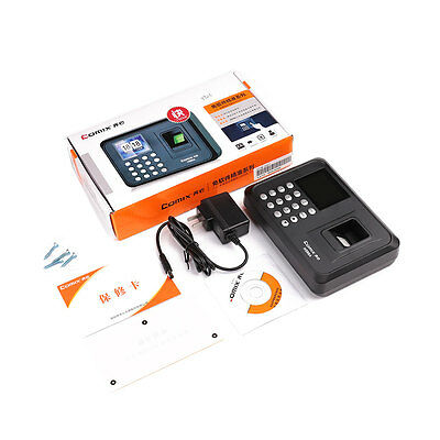 H500A Fingerprint USB English Office Attendance Recorder Timing Sensor Machine