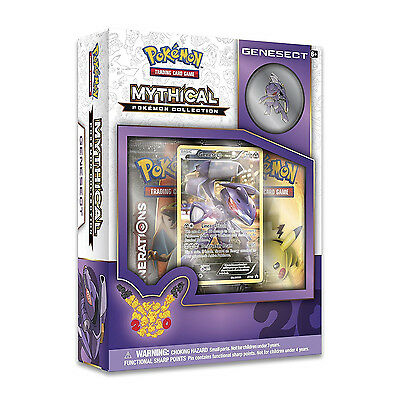 Pokemon TCG Mythical Pokemon Collection     Genesect Pin Box