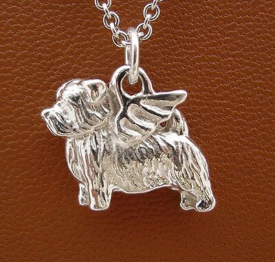 Norfolk Terrier Angel Pendant