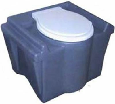 PVC toilet tank Removable Garden Camping Basement or. Construction sites Urinal