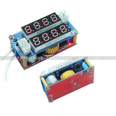 5A CC/CV Adjustable Step Down Charge Display Module LED Panel Voltmet Ammeter CF