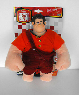 Rare Disney Wreck-It-Ralph Plush PVC Collectable Toy Figure MINT on card