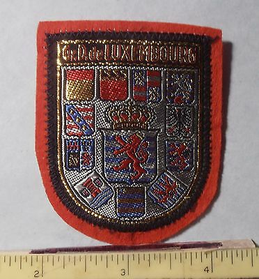 PATCH ~ GRAND DUCHY of LUXEMBOURG ~ Coat of Arms of 12 States