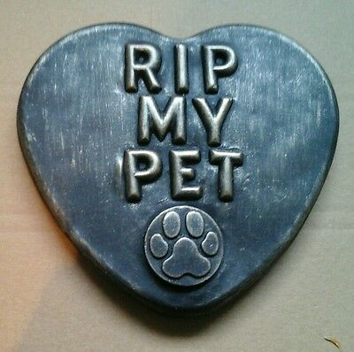 Large Pet Memorial/headstone/stone/grave marker/memorial