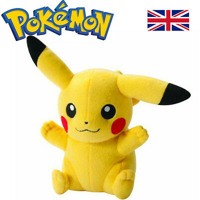 POKEMON Pikachu 20cm Soft Plush Toy Doll Gift For Kids Collection Toy