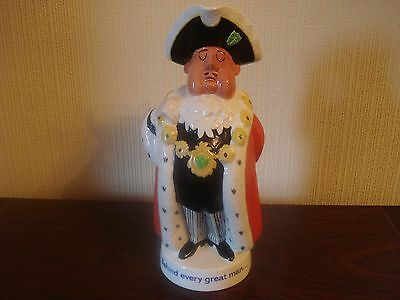"""Beswick India Pale Ale toby jug ( Behind every great man ) 9"""""""