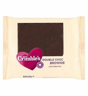 Mrs Crimble'S 4 Double Chocolate Brownies