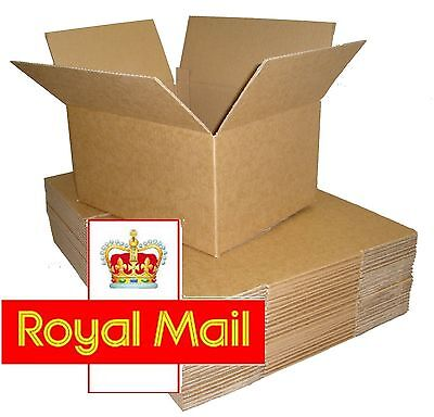 Royal Mail Max Small Parcel PIP Size Cardboard Boxes 350x250x160mm * OFFER *