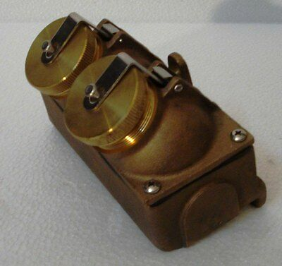 NEVER USED - PAULHAM Marine Brass SWITCH for Light – Made in USA (C)