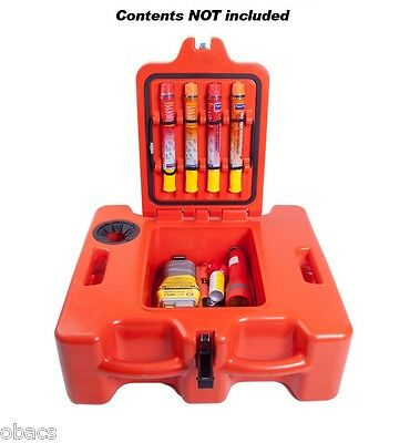 Life Cell Trawlerman Boat Safety Gear Storage Box Floatation Device 6 People