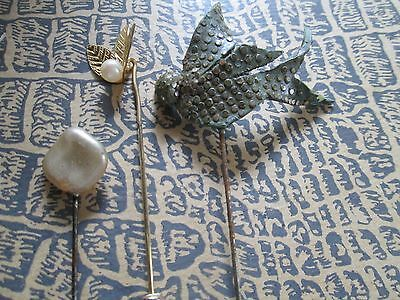 Antique-vintage for dolls hat pins lot off  25 glass beads