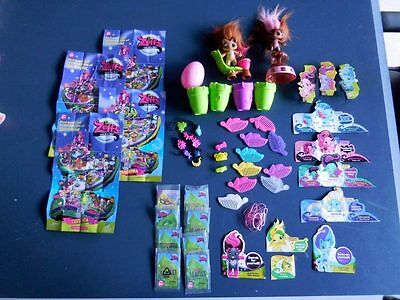 Zelfs Troll Lot 2 Figures Combs Charms Catalogs Inserts  Free Shipping