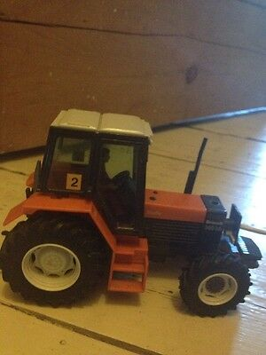 Rare VINTAGE BRITAINS 9522 RENAULT TURBO 145-14 Tractor Great Condition